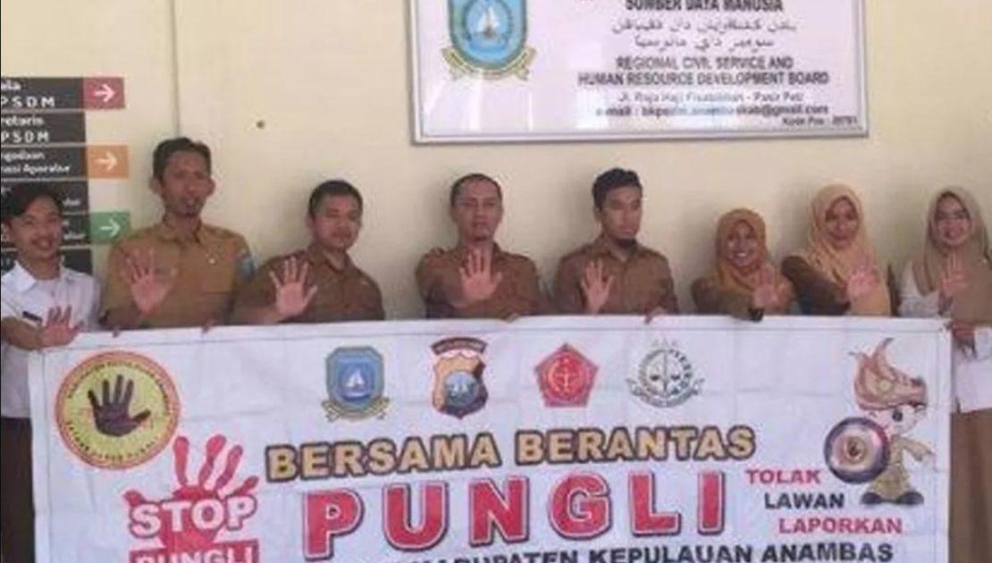 Tim UPP Saber Pungli Polres Anambas Monitoring Panita Tes